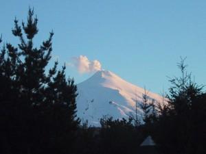 Villarrica Vulcan, Pucon - Quelle: Wikipedia