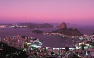 Rio de Janeiro bei Nacht